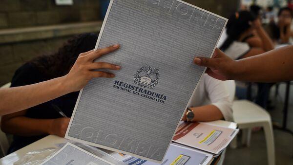 Elecciones legislativas en Colombia - Sputnik Mundo