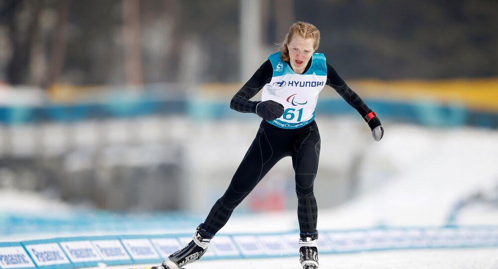 Ekaterina Rumyantseva, campeona paralímpica de esquí nórdico