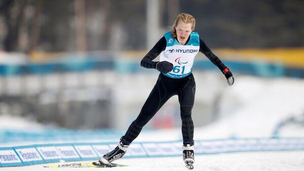 Ekaterina Rumyantseva, campeona paralímpica de esquí nórdico - Sputnik Mundo