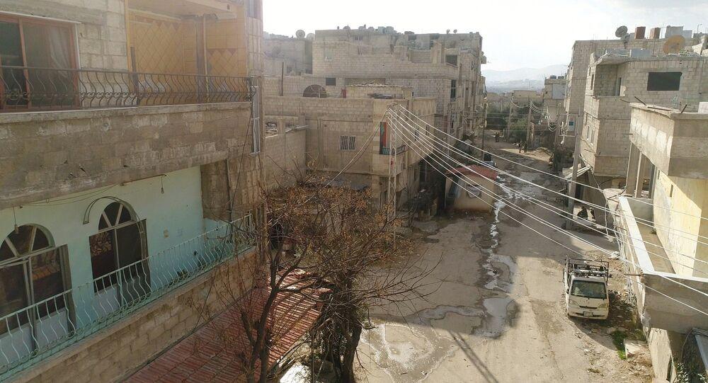 Situación en Guta Oriental, Siria (imagen referencial)