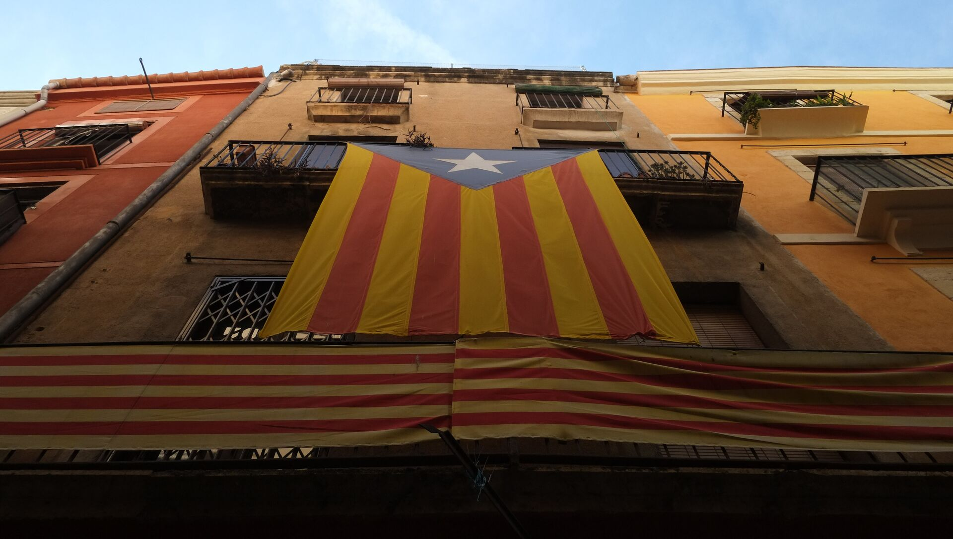 Estelada, la bandera independentista de Cataluña  - Sputnik Mundo, 1920, 19.01.2021
