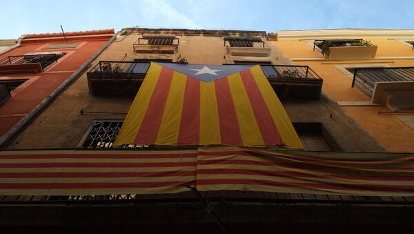 Estelada, la bandera independentista de Cataluña - Sputnik Mundo