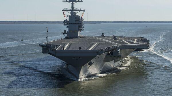 El portaviones USS Gerald R. Ford (CVN-78) - Sputnik Mundo
