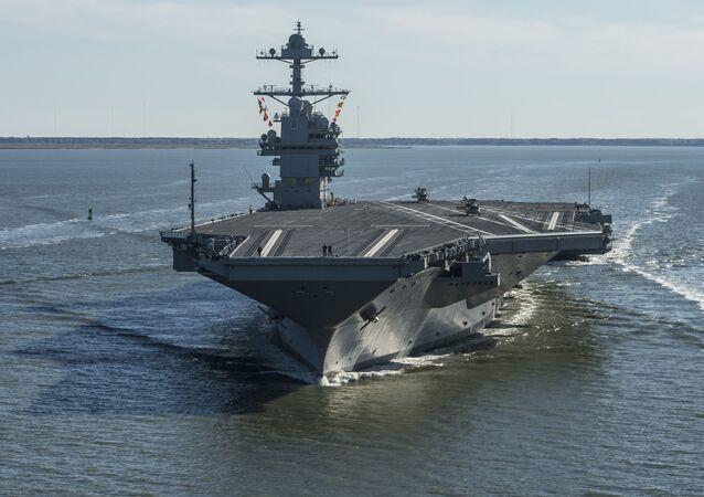 El portaviones USS Gerald R. Ford (CVN-78)