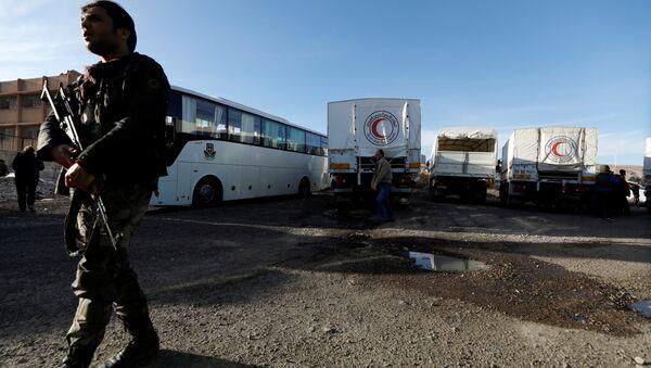 Situación en la Guta Oriental, Siria - Sputnik Mundo