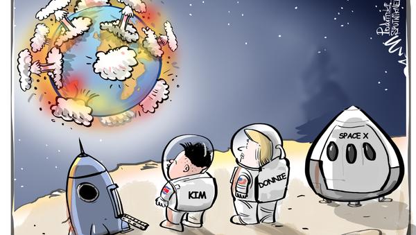 Encuentro explosivo: la posible reunión entre Trump y Kim - Sputnik Mundo
