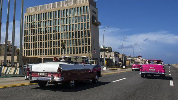 Embajada de Estados Unidos en La Habana - Sputnik Mundo