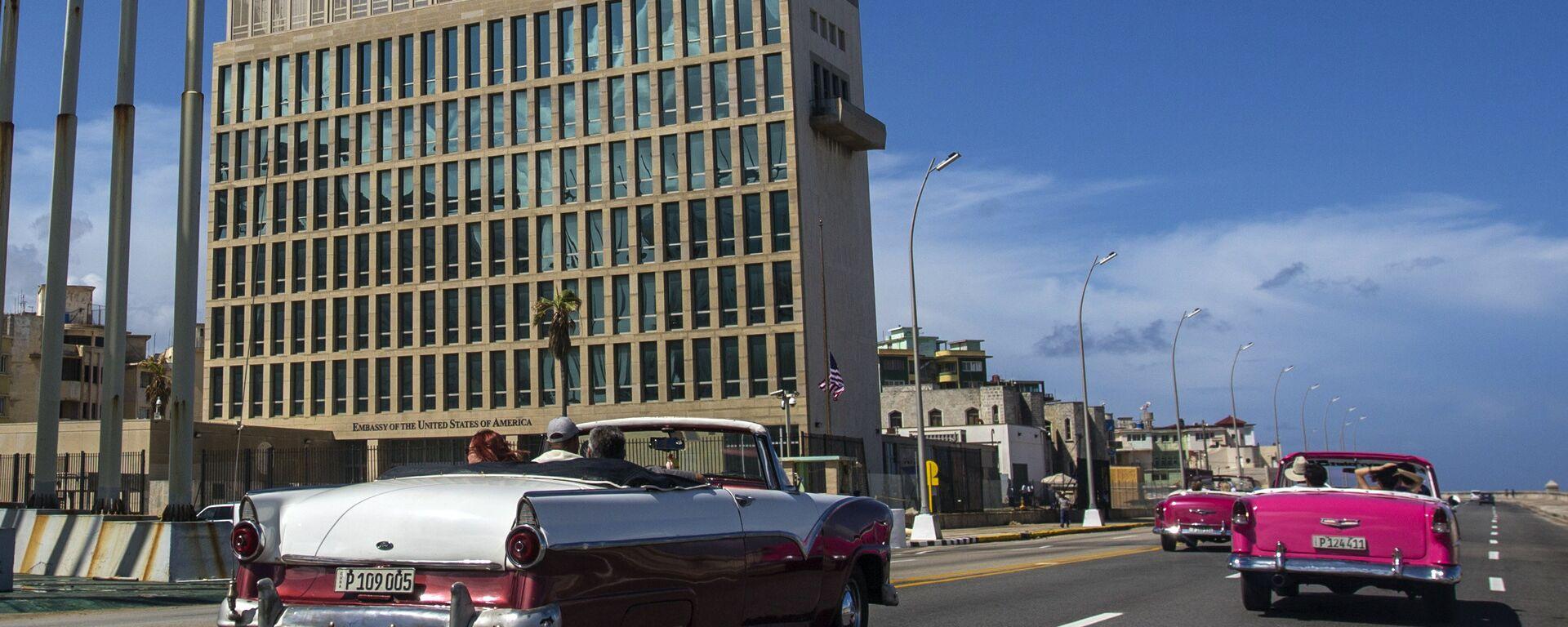 Embajada de Estados Unidos en La Habana - Sputnik Mundo, 1920, 12.03.2021