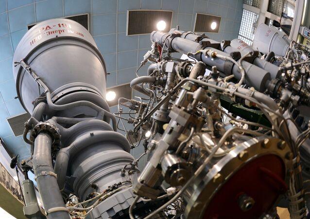 Motor de cohete RD-191 de la empresa rusa Energomash