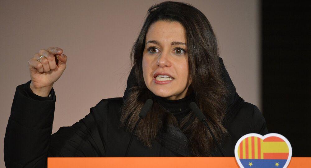 Inés Arrimadas, líder de Ciudadanos en Cataluña (archivo)