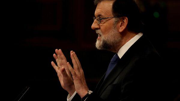 Mariano Rajoy, presidente del Gobierno de España - Sputnik Mundo