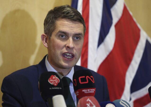 Gavin Williamson, ministro de Defensa británico