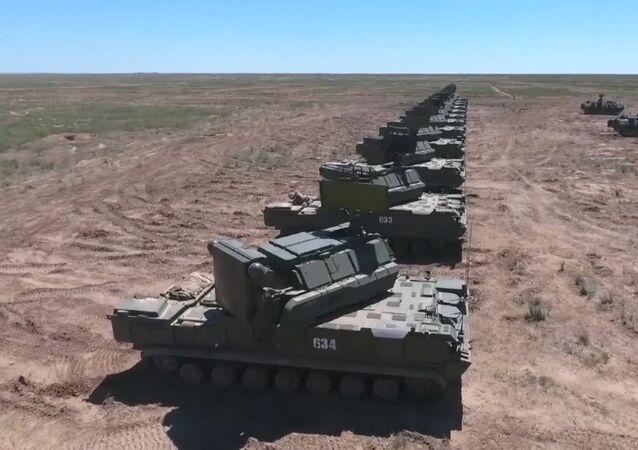 La defensa antiaérea de Rusia derriba misiles de crucero exitosamente