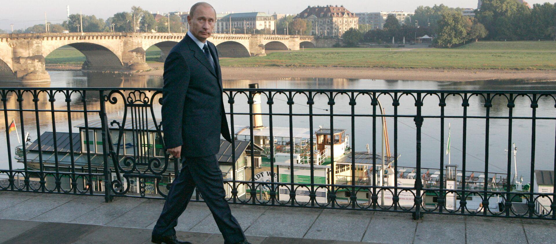 Vladímir Putin, presidente de Rusia, en Dresde, Alemania (archivo) - Sputnik Mundo, 1920, 15.03.2018