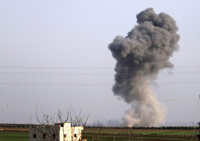 Ataques turcos en Afrín
