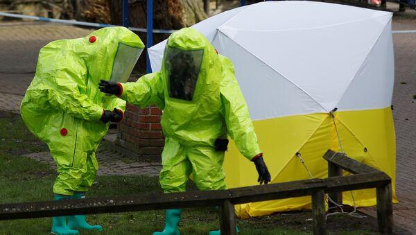 Policía británica investiga el caso Skripal - Sputnik Mundo