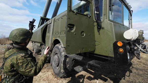 'Baluarte' ruso en el Báltico: ejercicios de los sistemas de misiles en Kaliningrado - Sputnik Mundo