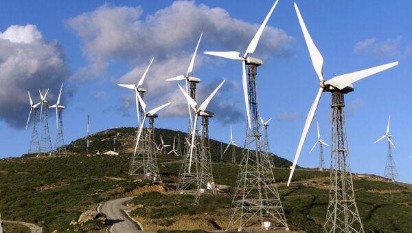 Planta de la energía eólica en España - Sputnik Mundo
