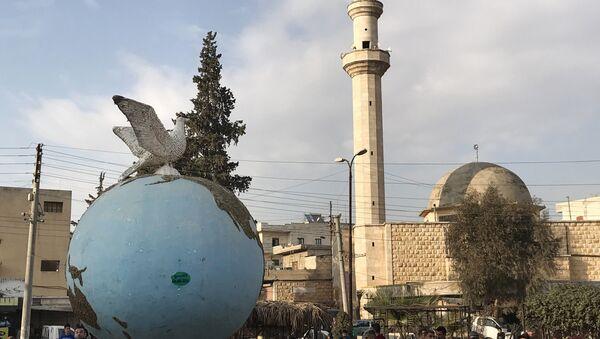 La ciudad de Afrín, Siria - Sputnik Mundo