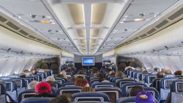 Cabina de un avión (imagen referencial) - Sputnik Mundo