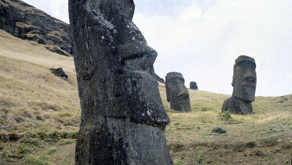 Moáis, estatuas de la Isla de Pascua - Sputnik Mundo