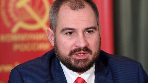 Maxim Suraikin, candidato a la presidencia de Rusia (archivo) - Sputnik Mundo