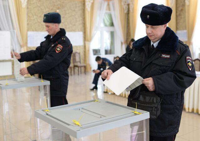 Elecciones presidenciales en Crimea, Rusia (archivo)