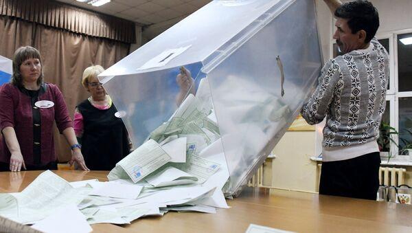 El cálculo de votos tras las elecciones presidenciales en Rusia - Sputnik Mundo