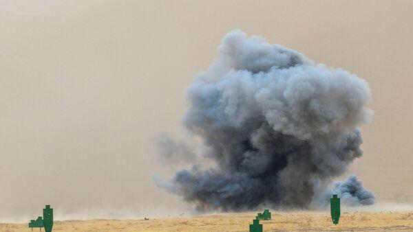 Cortina de humo, imagen referencial - Sputnik Mundo