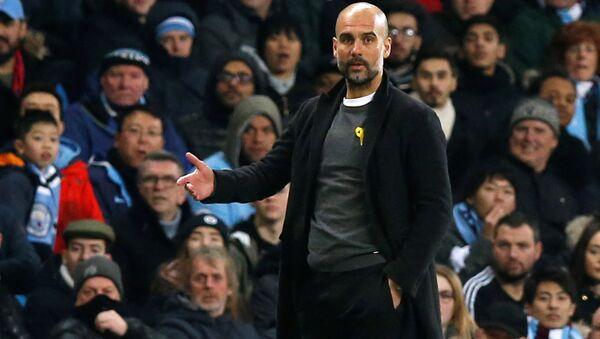 Pep Guardiola, el entrenador catalán de Manchester City - Sputnik Mundo