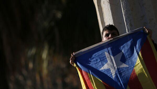 Estelada, bandera independentista de Cataluña - Sputnik Mundo