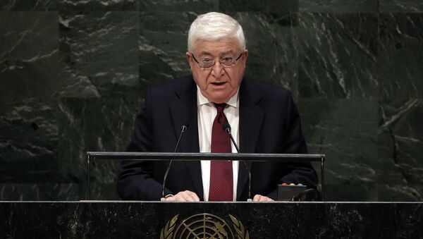 Fuad Masum, el presidente de Irak - Sputnik Mundo