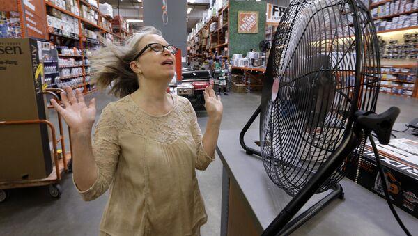 Una ola de calor en Seattle - Sputnik Mundo