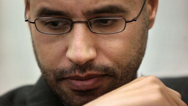 Saif Islam Gadafi, imagen de archivo - Sputnik Mundo