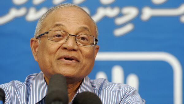 Maumoon Abdul Gayoom, expresidente de Maldivas (archivo) - Sputnik Mundo