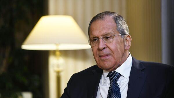 Serguéi Lavrov, ministro ruso de Asuntos Exteriores - Sputnik Mundo