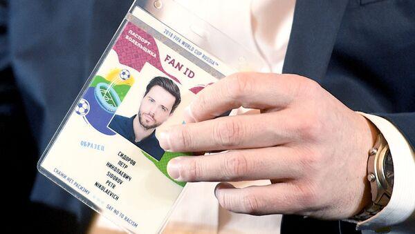 FAN ID para la Copa Mundial de la FIFA 2018 (archivo) - Sputnik Mundo