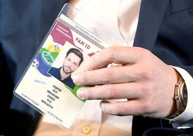 FAN ID para la Copa Mundial de la FIFA 2018