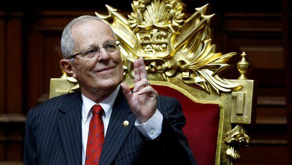 Pedro Pablo Kuczynski, presidente de Perú - Sputnik Mundo