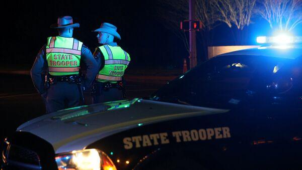 La policía en Texas, EEUU - Sputnik Mundo