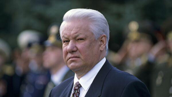 Borís Yeltsin, primer presidente de Rusia - Sputnik Mundo