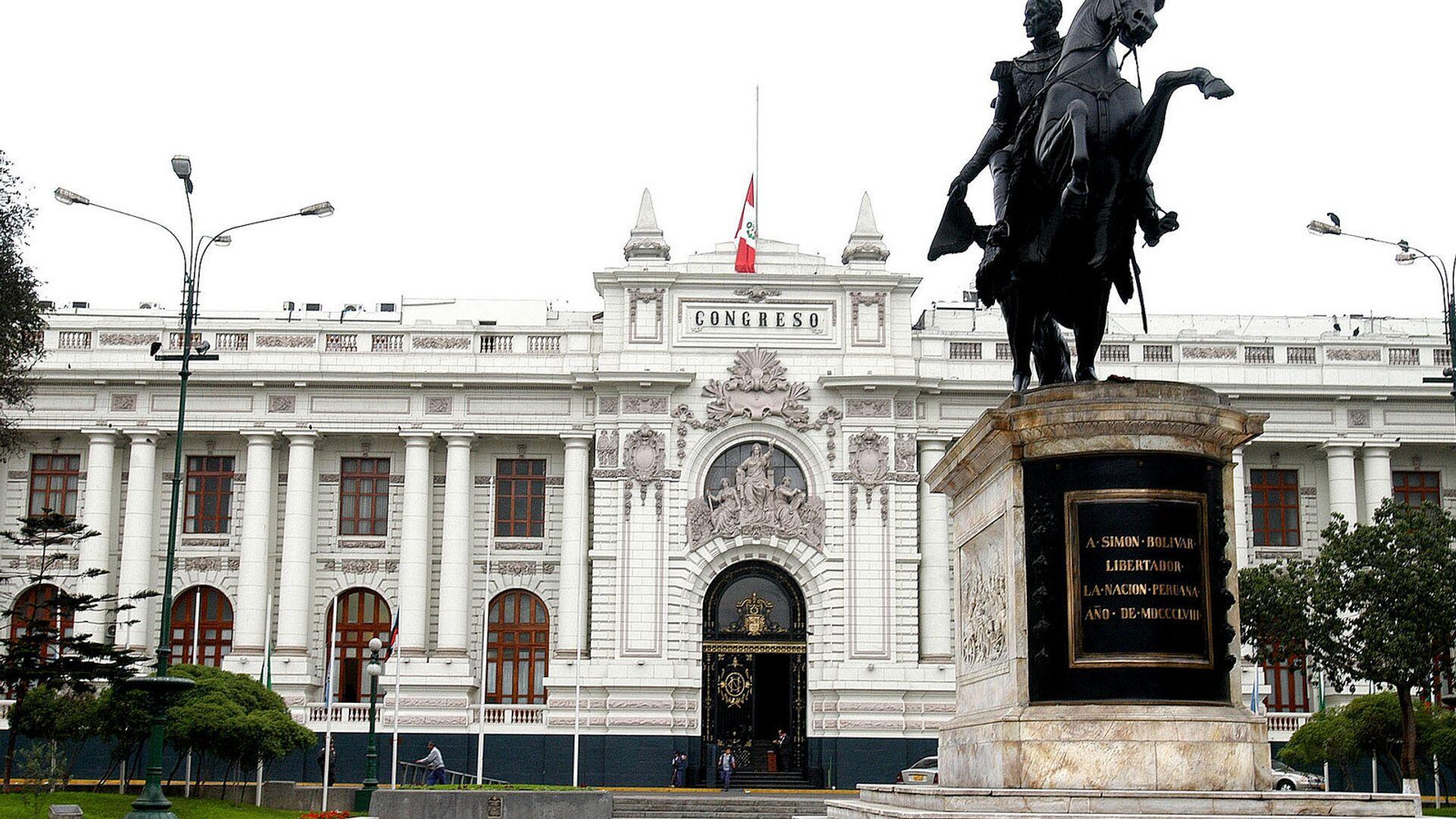 Congreso de la República del Perú - Sputnik Mundo, 1920, 08.04.2021