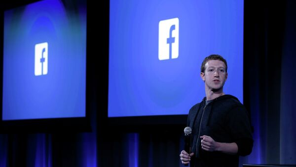 Mark Zuckerberg, fundador y presidente de Facebook - Sputnik Mundo