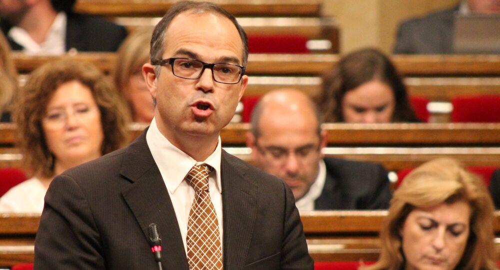 Jordi Turull, el exconsejero de Presidencia y exportavoz del Gobierno catalán