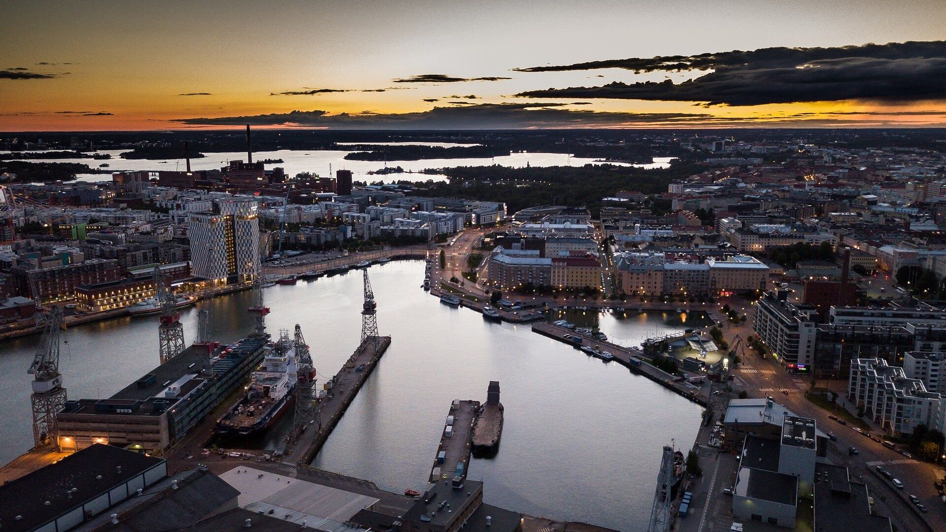 Ciudad de Helsinki, Finlandia - Sputnik Mundo, 1920, 19.03.2021
