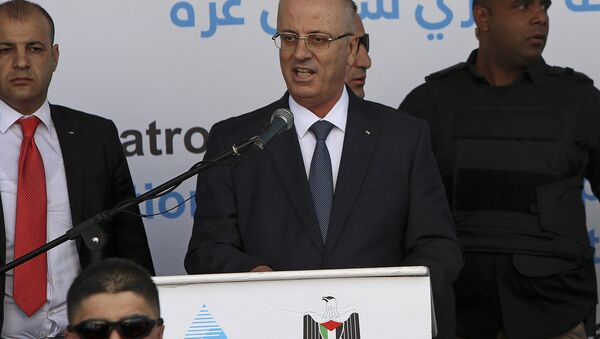 Rami Hamdallah, el primer ministro palestino - Sputnik Mundo