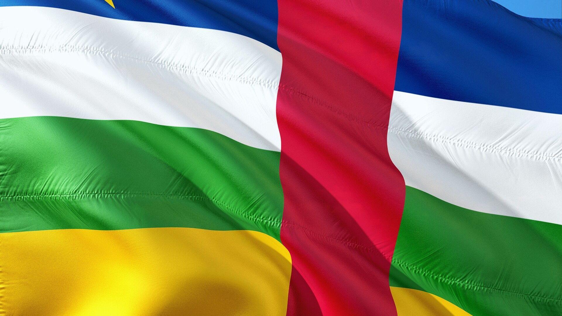 Bandera de la República Centroafricana - Sputnik Mundo, 1920, 02.06.2021