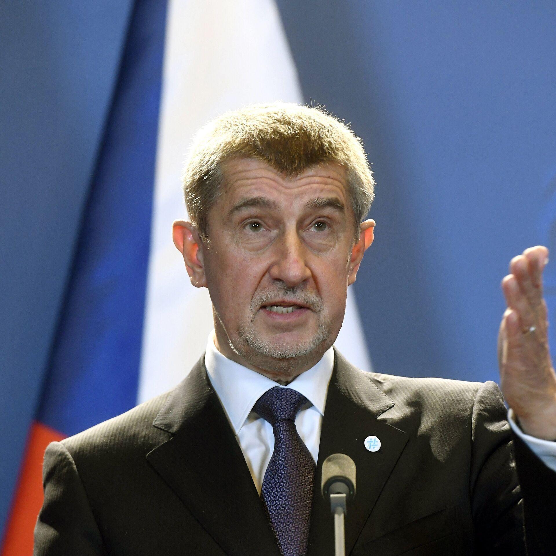 Primer ministro checo niega la relación de Rusia con las explosiones en  Vrbetice - 19.04.2021, Sputnik Mundo