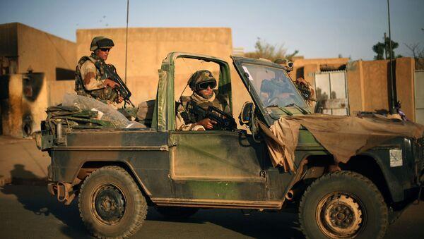 Soldados franceses en Malí - Sputnik Mundo