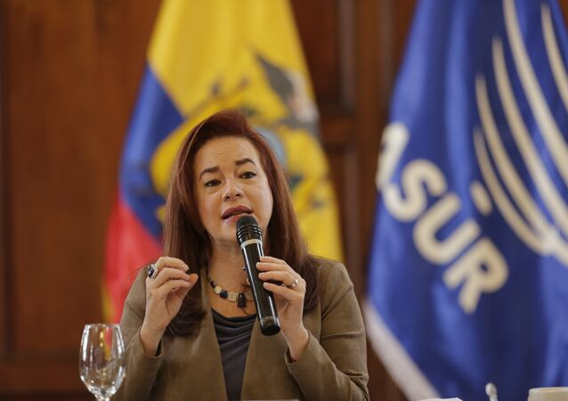 María Fernanda Espinosa, canciller de Ecuador